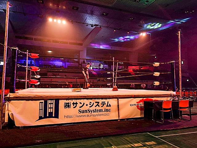 愛知県体育館特別リングサイド