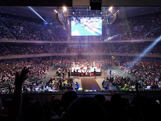 新日本プロレス日本武道館1階指定席