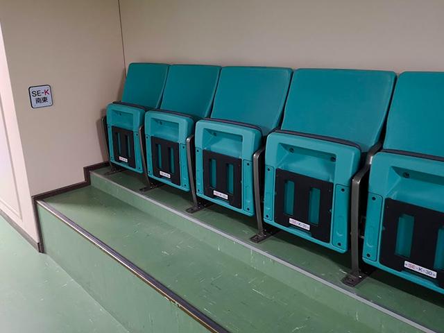 ノア日本武道館K列座席