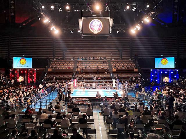 大田区総合体育館の花道