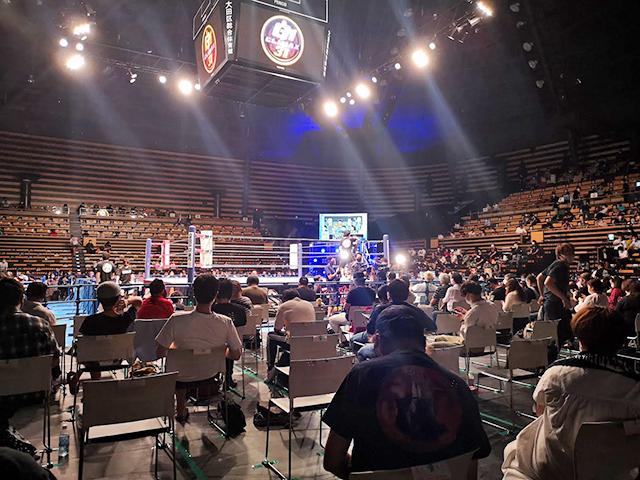 大田区総合体育館でプロレスを見る!座席・アクセス、どこから見る?