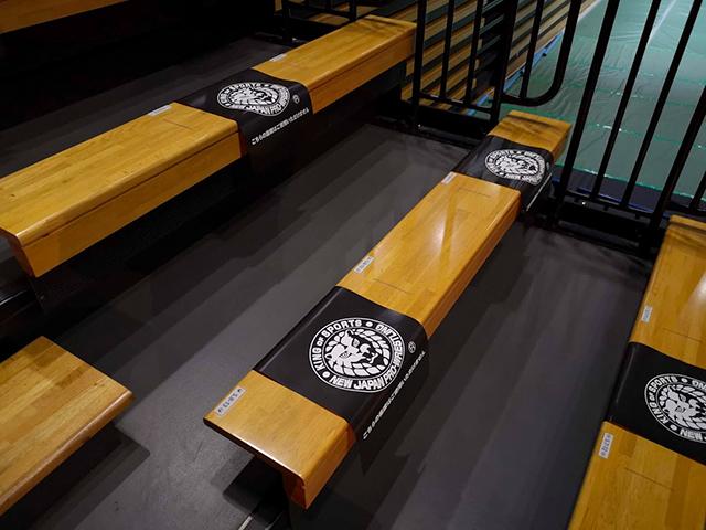 大田区総合体育館プロレス ひな壇席の椅子