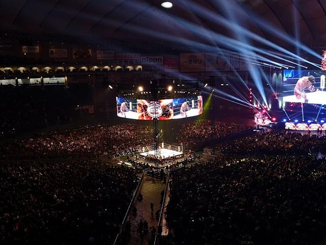 新日本プロレス東京ドームスタンド席