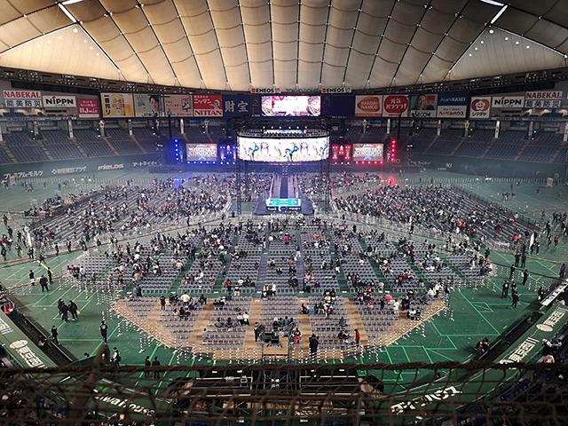 新日本プロレス東京ドーム、スタンドA