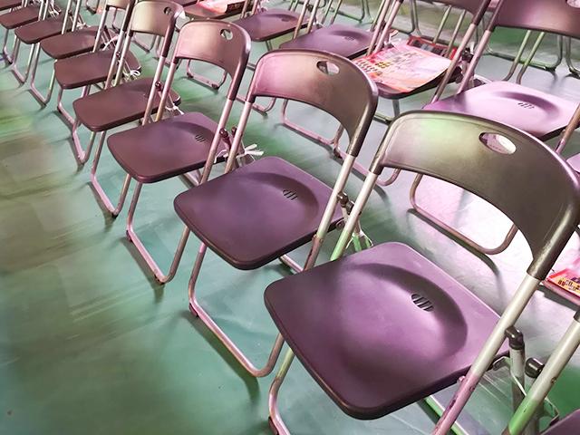 神戸ワールド記念ホール、椅子
