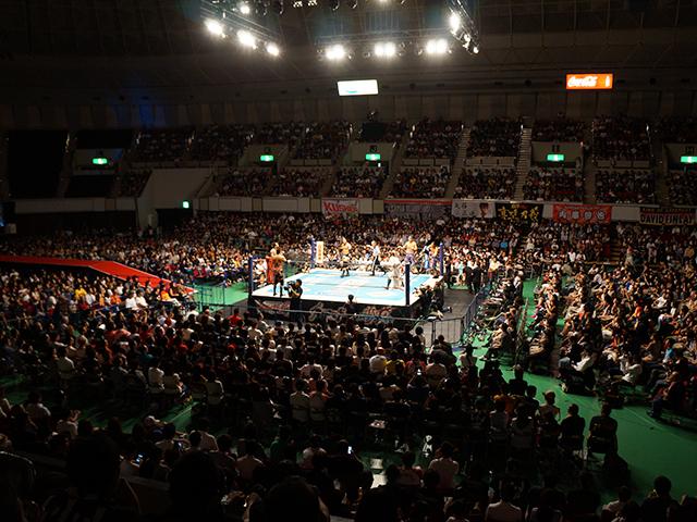 神戸ワールド記念ホール スタンド席