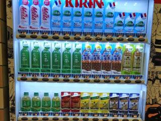 両国国技館のジュース自動販売機