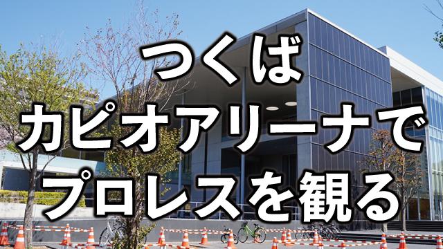 つくばカピオアリーナ(茨城県)の座席・席順・アクセスを解説。初めてのプロレス観戦