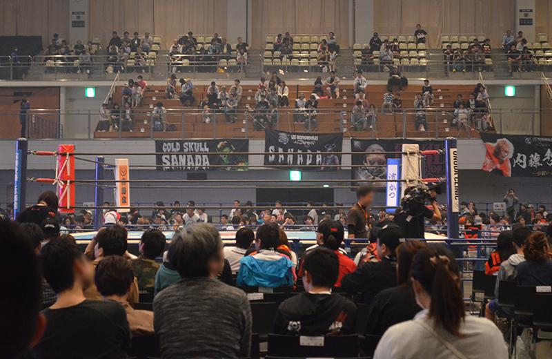 福岡国際センター(プロレス)特別リングサイド