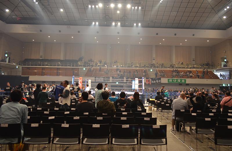 福岡国際センター(プロレス)1階席