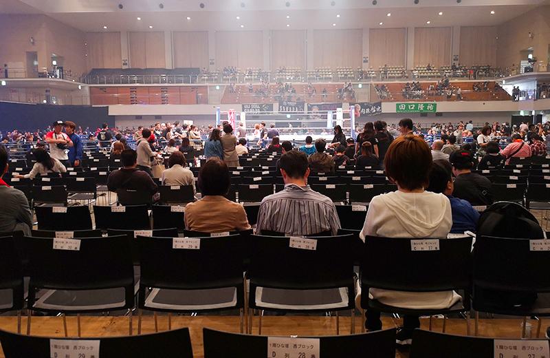 福岡国際センター(プロレス)ひな壇
