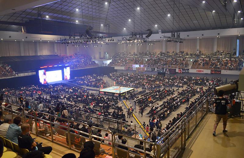 福岡国際センター(プロレス)3階席