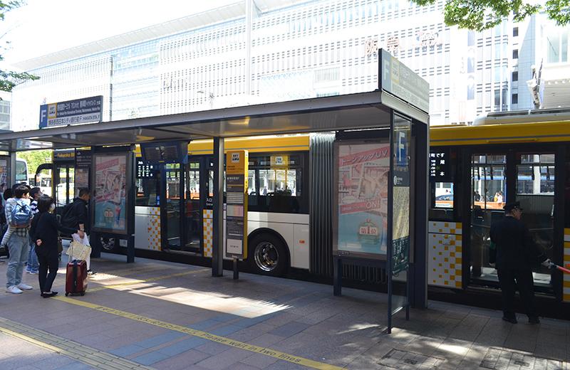 福岡国際センター(プロレス)博多駅バス停