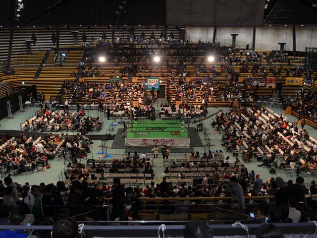 大田区総合体育館2Fスタンド席