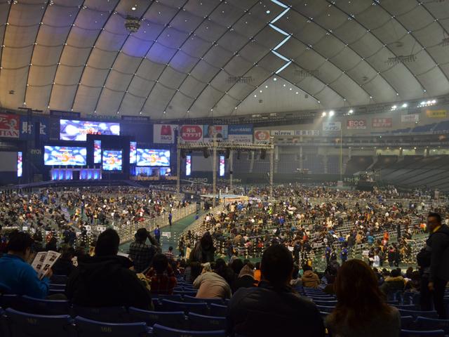 プロレス東京ドーム1Fスタンド