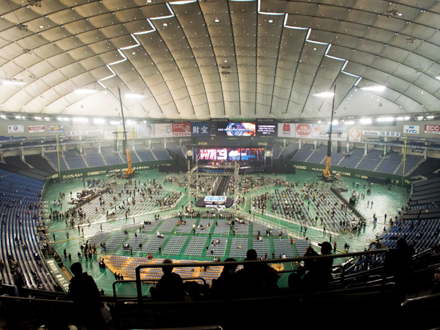 プロレス東京ドーム2Fスタンド