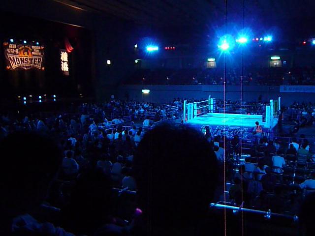 横浜文化体育館2階席
