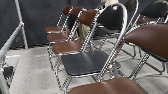 パイプ椅子/レッスル武闘館(アイスリボン道場)