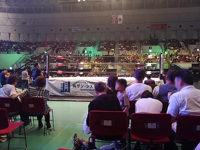 神戸ワールド記念ホールでプロレスを見る!実は遠い、アクセスと座席
