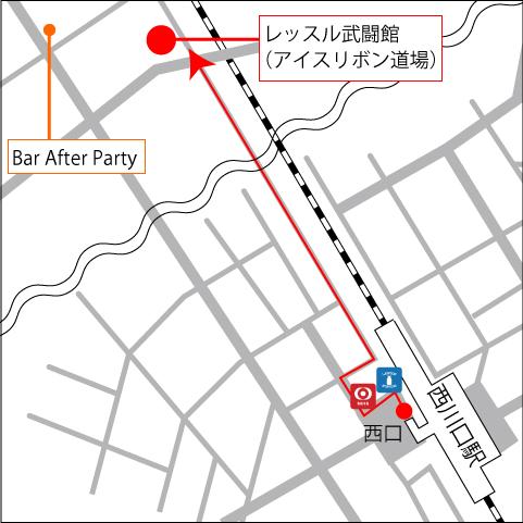 JR西川口駅からアイスリボン道場のアクセス