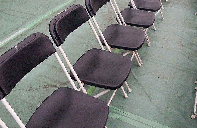 パイプ椅子/ニューサンピア高崎