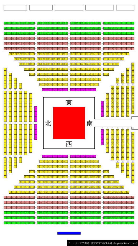 座席図/ニューサンピア高崎