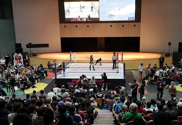 ボートレース戸田(競艇場)イベントホールでプロレスを見る!