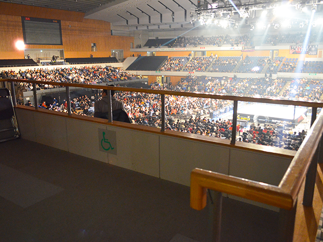 北海きたえーる(北海道立総合体育館)でプロレスを見る!座席を紹介