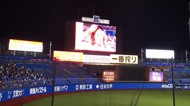 明治神宮野球場でプロレスを見る!