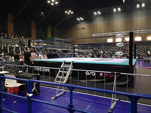 リングサイド:横浜武道館でプロレスを見る!座席・見え方・アクセスを紹介