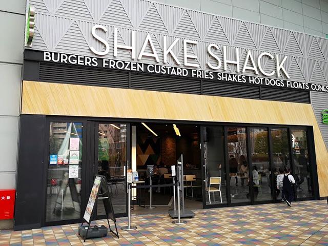 SHAKE SHACK(シェイクシャック)東京ドーム店に行ってきた!