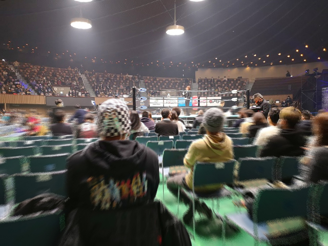 リングサイド:代々木競技場(第二体育館)でプロレスを見る!座席・アクセスを紹介