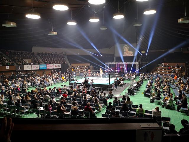 スタンド席:代々木競技場(第二体育館)でプロレスを見る!座席・アクセスを紹介