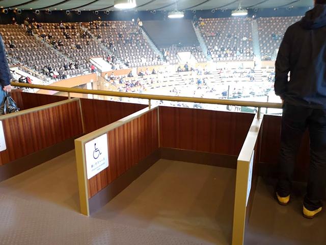 車椅子:代々木競技場(第二体育館)でプロレスを見る!座席・アクセスを紹介