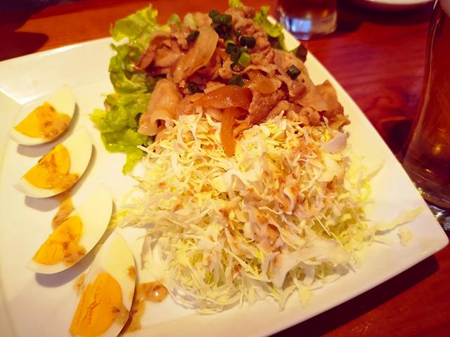 ヨネ家サラダ/うまい肉と麺の店ヨネ家