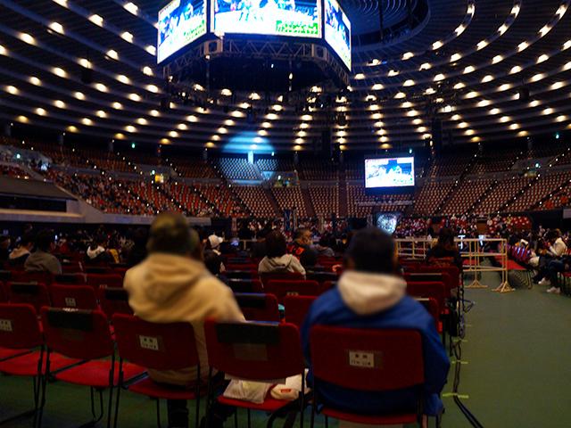 プロレス大阪城ホール・リングサイド/1階アリーナ