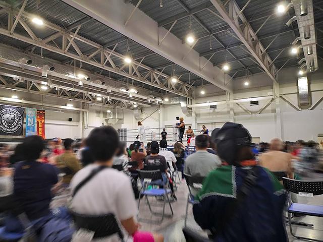 ふじさんめっせ(富士山産業交流展示場)でプロレスを見る!