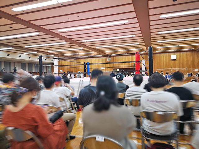 日本ガイシ スポーツプラザ第3競技場でプロレスを見る!座席を紹介